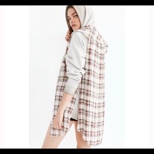 Urban Outfitters Other - Plaid fraid button down tunic!!